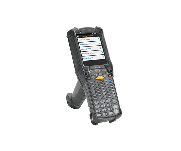 Zebra MC9200 mobile computer.